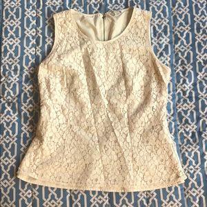 Lace plum blouse